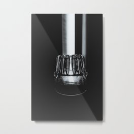 Nights Over Metal Print