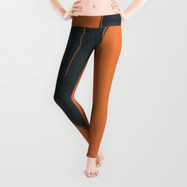 Abstract Nude IV Leggings