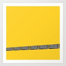 Mellow Yellow! Art Print