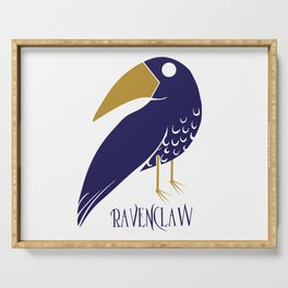 Cute and Smart Ravenclaw Serving Tray