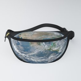 Planet Earth from Above Fanny Pack