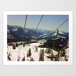 From the Lift Art Print
