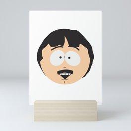 Randy Marsh Happy Face Mini Art Print