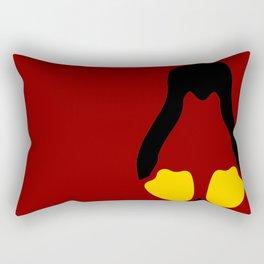 Linux Tux Penguin Symbol Rectangular Pillow