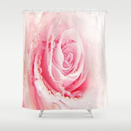 Rose and Tears Shower Curtain