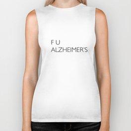 F U ALZHEIMER'S Biker Tank