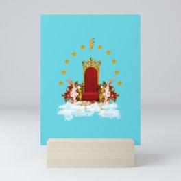 The throne Mini Art Print