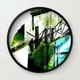 Pareja veneciana Wall Clock