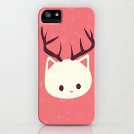 Reindeer Cat iPhone Case