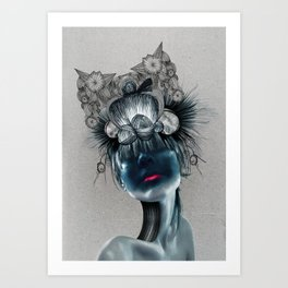 CROWNED Art Print