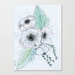 Anemone 2 Canvas Print