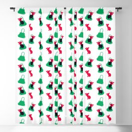 Angry animals: chihuahua - little green bag Blackout Curtain