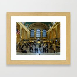 The Grand Central Terminal in NYC Framed Art Print