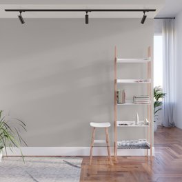 Cotton - Off White Solid Color Pairs with Sherwin Williams Mantra 2020 Colors Individual White SW600 Wall Mural