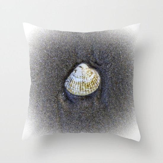 Seashells & Sand 4 Throw Pillow