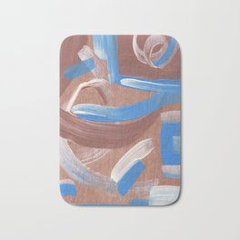 Falling Water Abstract Bath Mat