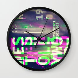 GLITCH CITY #81: West Hollywood Wall Clock