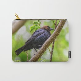 Brown Headed Cowbird Carry-All Pouch