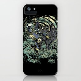 Welcome to the jungle. iPhone Case