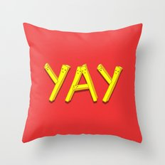 FryYAY! Throw Pillow