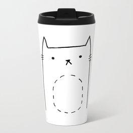 Kitty Metal Travel Mug