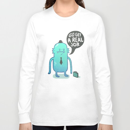 Job Hunt Long Sleeve T-shirt