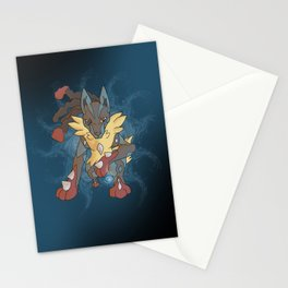 Mega Lucario Stationery Cards