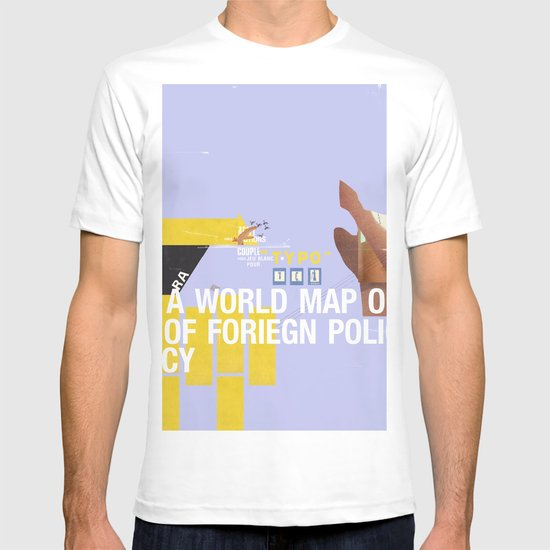 A World Map of Foreign Policy (book jacket cover) T-shirt