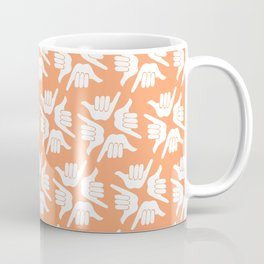 Orange Shaka Coffee Mug
