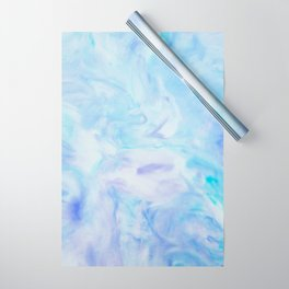 Blue Marble Wrapping Paper