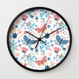 HYGGE Butterfly pattern Wall Clock
