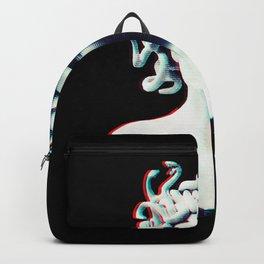 Medusa glitch Backpack