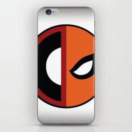 Wilson VS Wilson (Deadpool Deathstroke) iPhone Skin