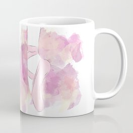 Pink Pointe shoes Coffee Mug