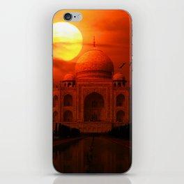 Taj Mahal Sunset iPhone Skin