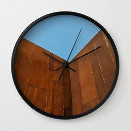 Architectural Corner Wall Clock