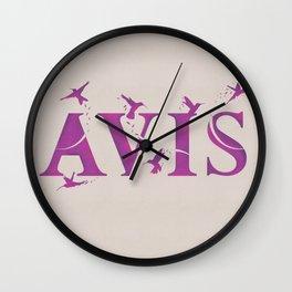 Harry Potter Incantation Collection : Avis Wall Clock