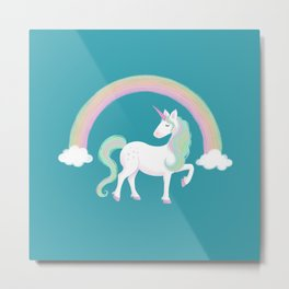 Look at me! I'm a Unicorn! Metal Print