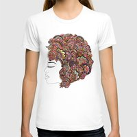 les miserables T-shirts featuring Her Hair - Les Fleur Edition by Bianca Green