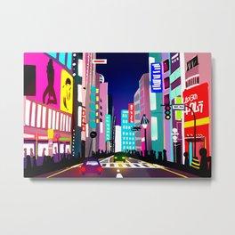渋谷 Metal Print