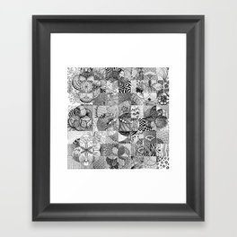 Art in Action Logo Framed Art Print