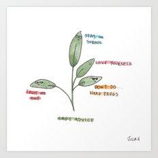 Sage Advice Art Print