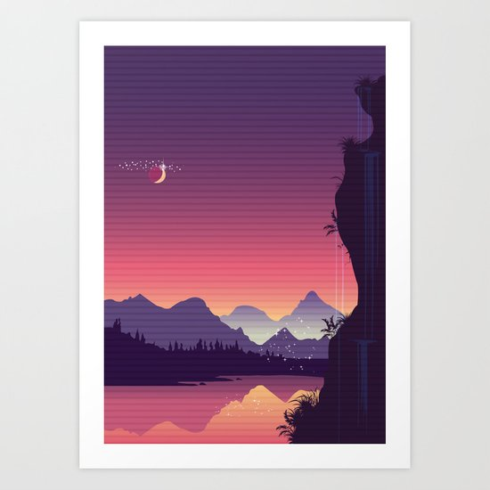River Of Dreams Art Print