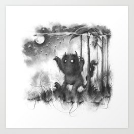 The Wild Rumpus Art Print