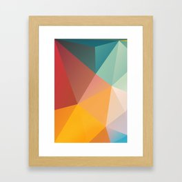 Geometric XXIX Framed Art Print