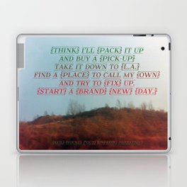 """""""Out On The Weekend"""" by Neil Young Laptop & iPad Skin"""