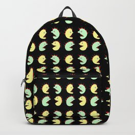 Halloween monsters--scary, haunted, horror,Halloween, l Hallows' Evening,All Saints' Eve,monster,tri Backpack