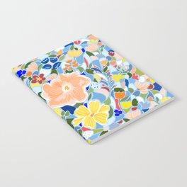 Summery Floral #illustration #pattern Notebook