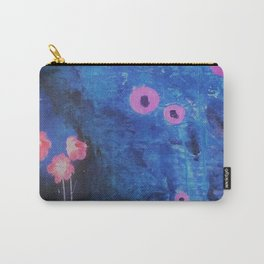 Downright Blue. From my Original Painting by Jodilynpaintings. Blue, Abstract Carry-All Pouch