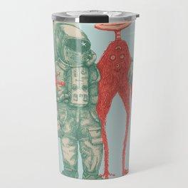 Alien & Astronaut Travel Mug